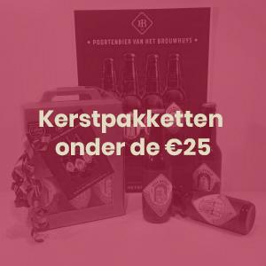 Kerstpakketten onder de €25